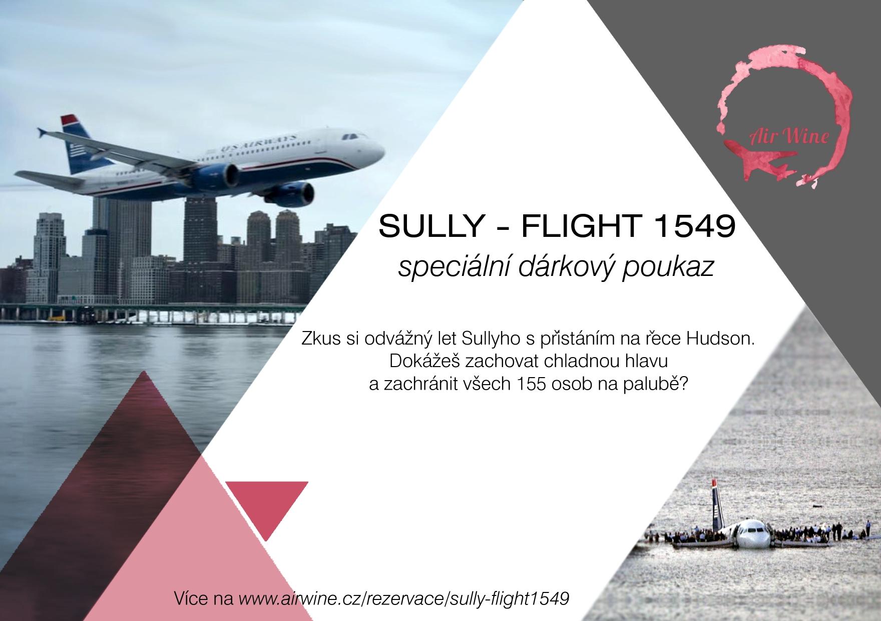 Sully - Flight 1549 Přistání na řece Hudson.